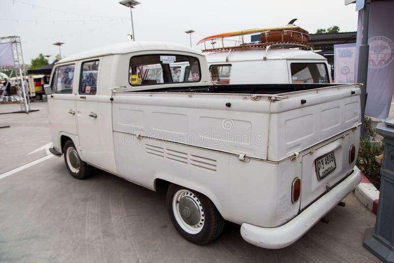 Réunion de club de propriétaires de Volkswagen en Thaïlande photos libres de droits