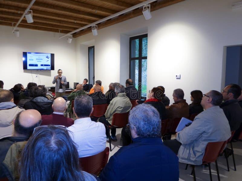 Réunion DMR Italie photos libres de droits