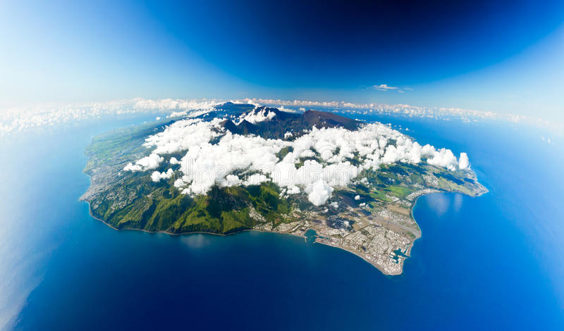 Download Réunion island stock photo. Image of formations, landscape - 20327268