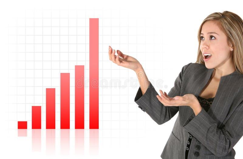 Réussite d'affaires image stock
