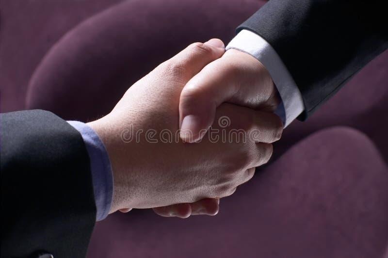 Réussite de partenariat image libre de droits