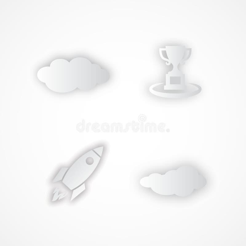 Réussite Illustration de vecteur de concept d'affaires illustration stock