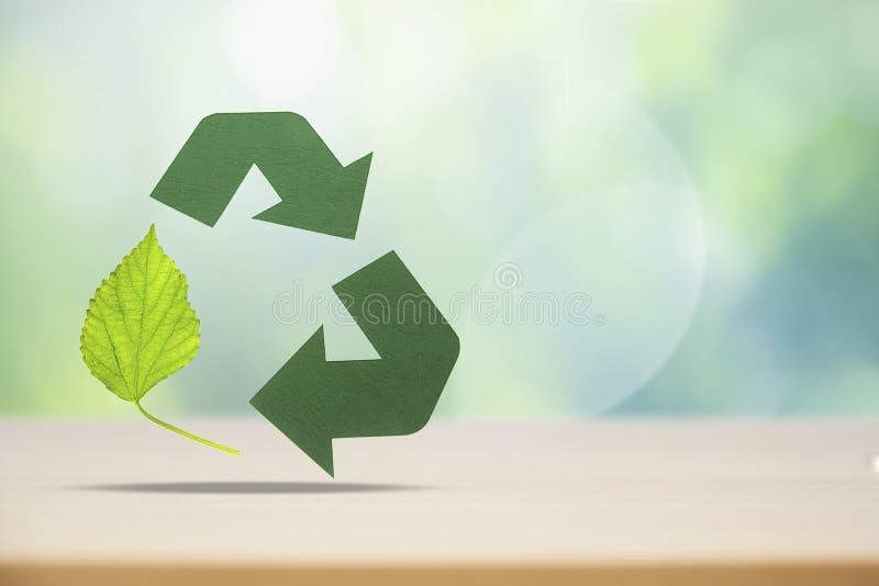 Réutilisation d'Eco image libre de droits