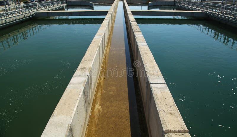 Réutilisation de l'eau photo stock