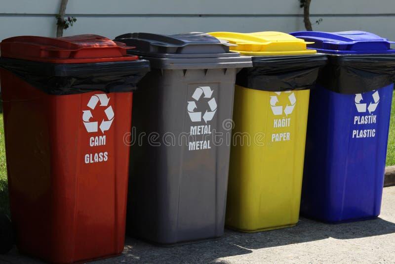 Réutilisation des ordures photographie stock libre de droits