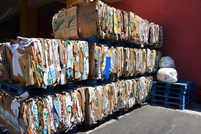 Réutilisation du centre à Los Angeles images stock