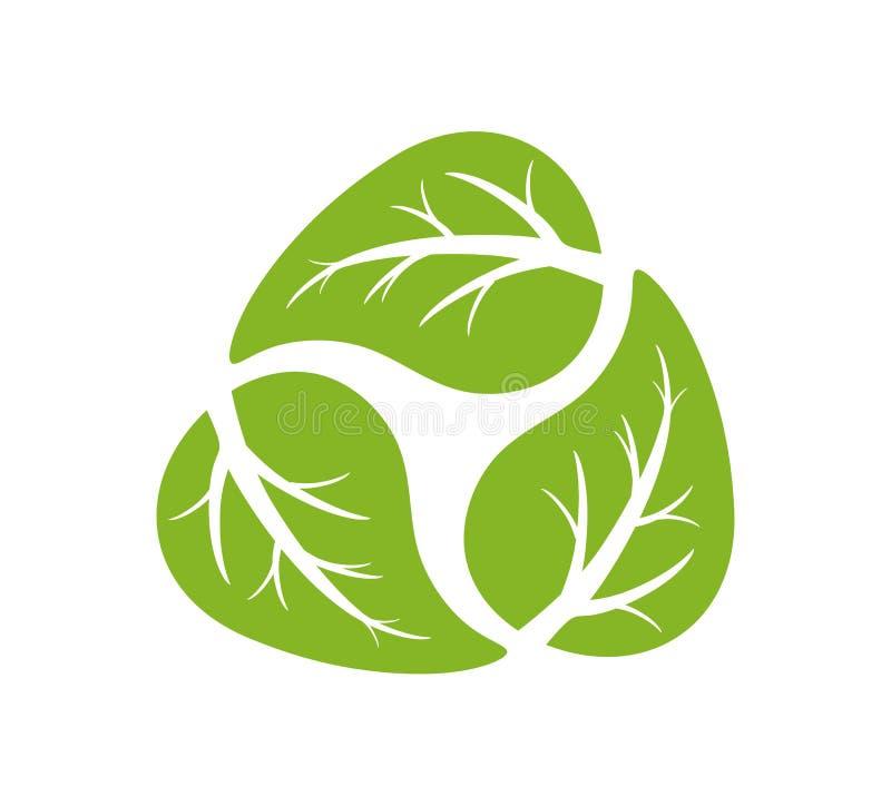 Réutilisation du logo illustration de vecteur