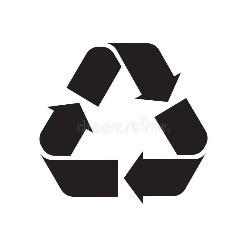 Réutilisation du symbole illustration stock
