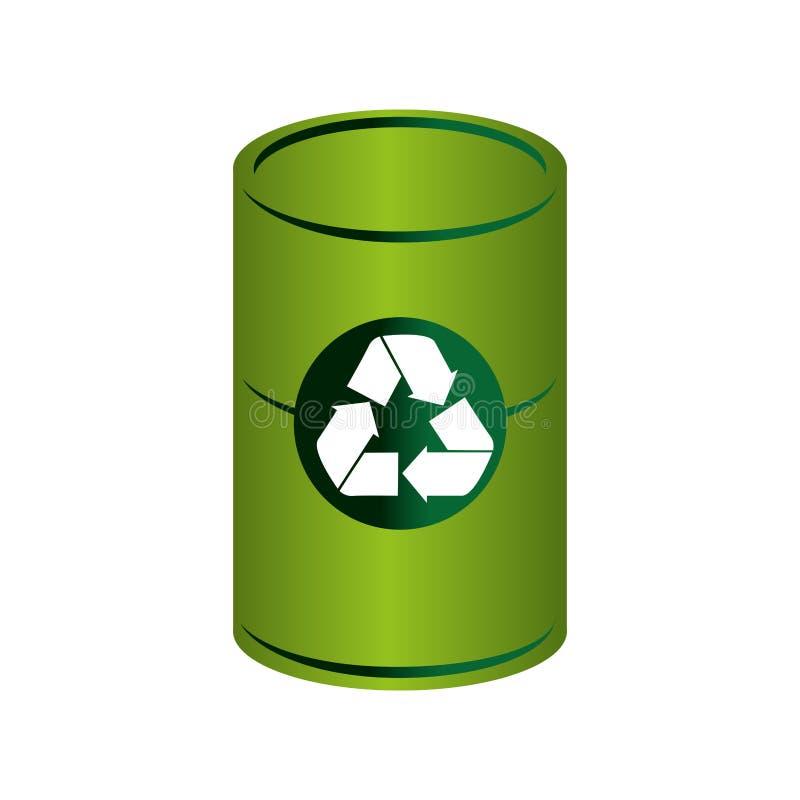 Download Réutilisez L'icône De Symbole D'écologie De Poubelle Illustration de Vecteur - Illustration du écologique, environnement: 87703550