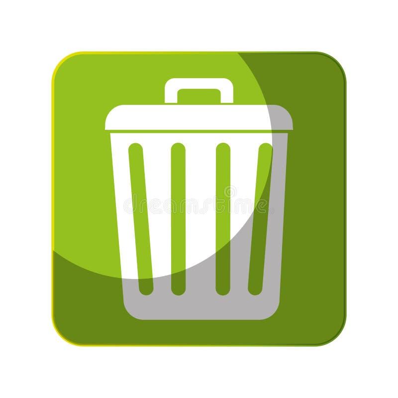 Download Réutilisez L'icône De Symbole D'écologie De Poubelle Illustration de Vecteur - Illustration du illustration, durée: 87703624
