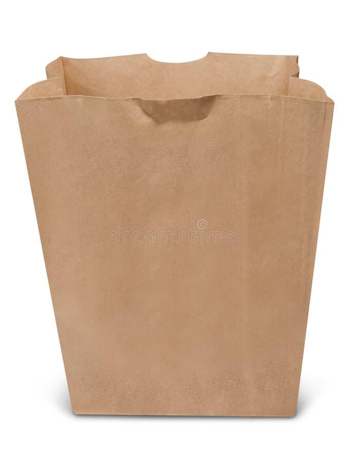 Réutilisez le sac à provisions de papier image libre de droits