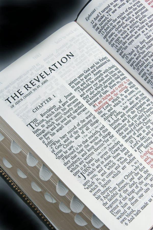 Révélations De Bible Image stock