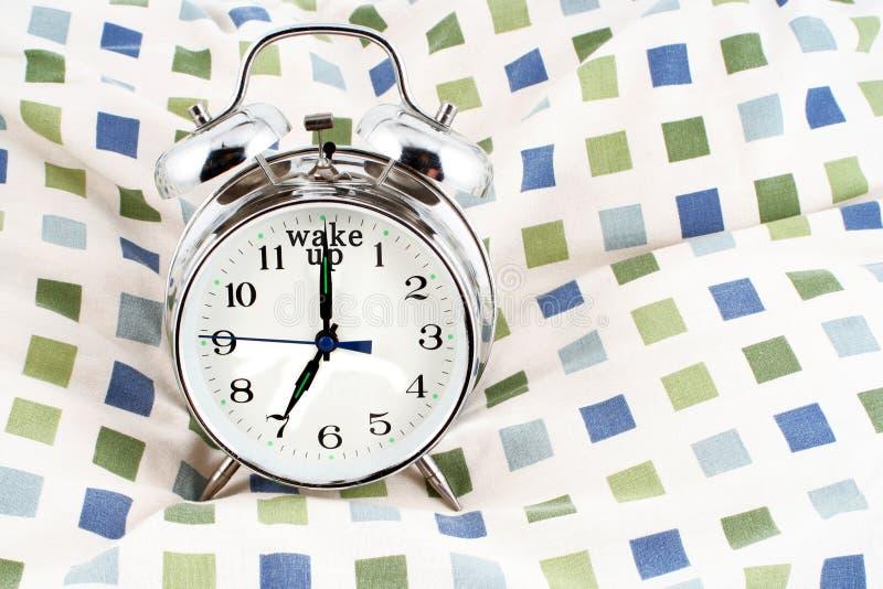 Réveillez le temps photographie stock libre de droits