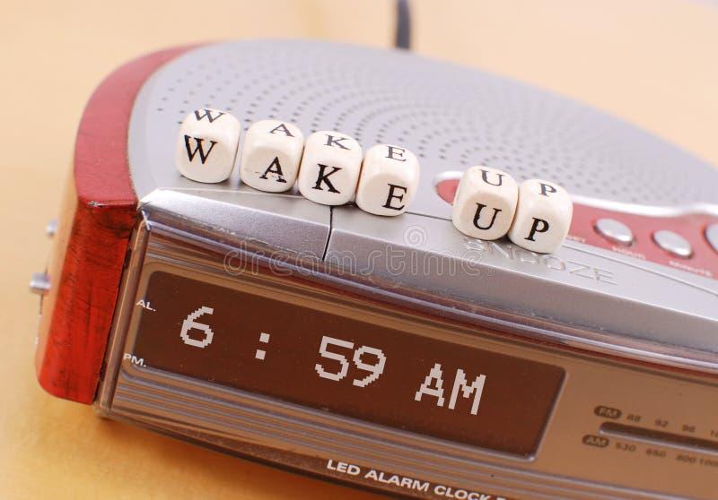 Réveillez-vous photo libre de droits