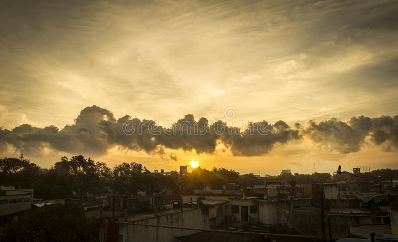 Réveillez-vous dans le xlapa photographie stock