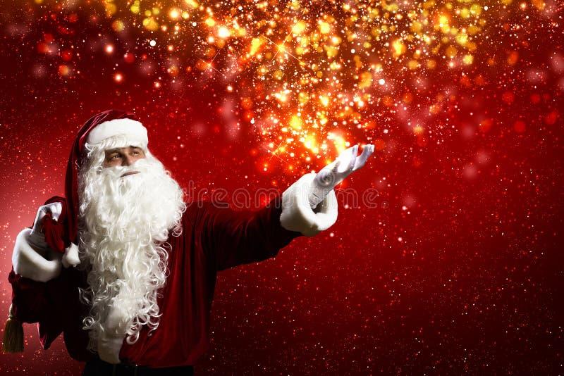 Réveillon de Noël magique photographie stock libre de droits