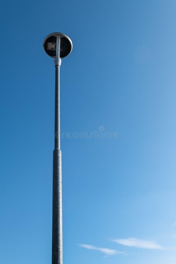 Réverbère de LED photographie stock libre de droits