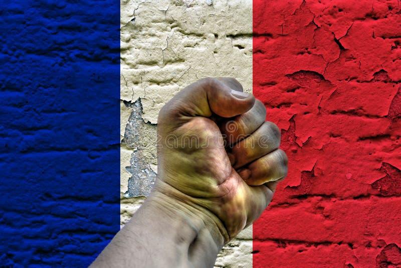 Révolution de Frances illustration libre de droits