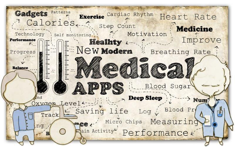 Révolution médicale illustration de vecteur