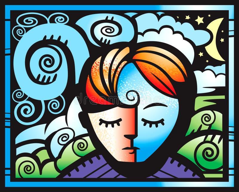 Rêve illustration libre de droits