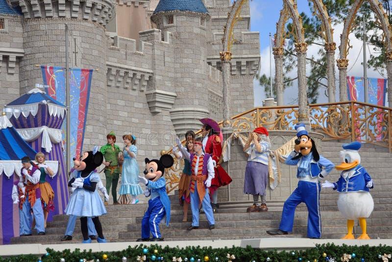 Rêve avec l'exposition de Mickey, Disney Orlando image libre de droits
