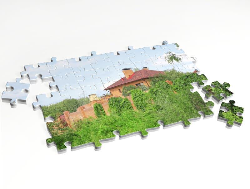 Rêve de propre maison illustration stock