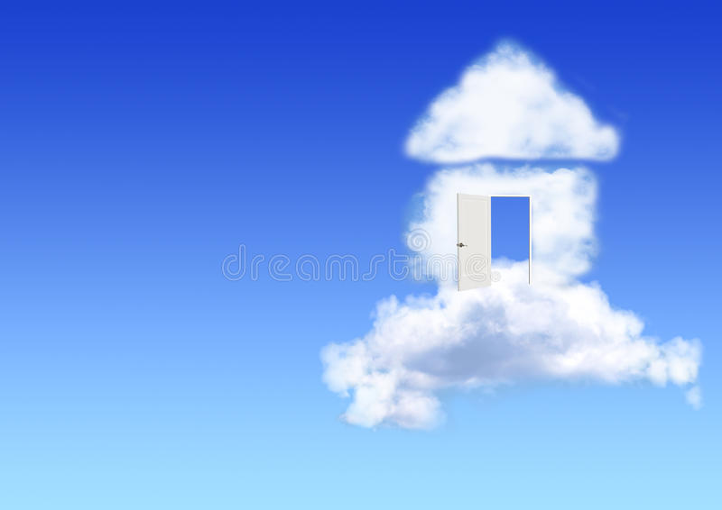 Rêve de propre maison illustration de vecteur