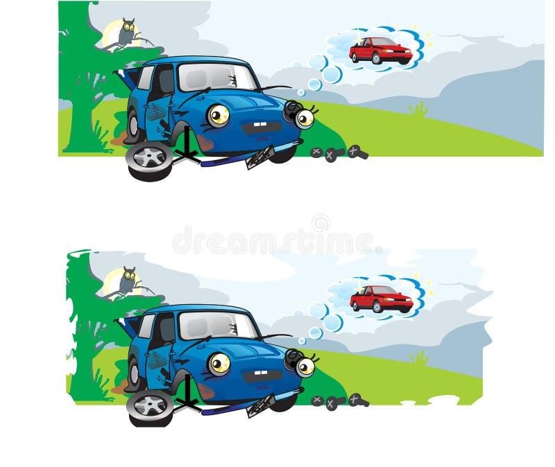 Rêve de véhicule illustration libre de droits