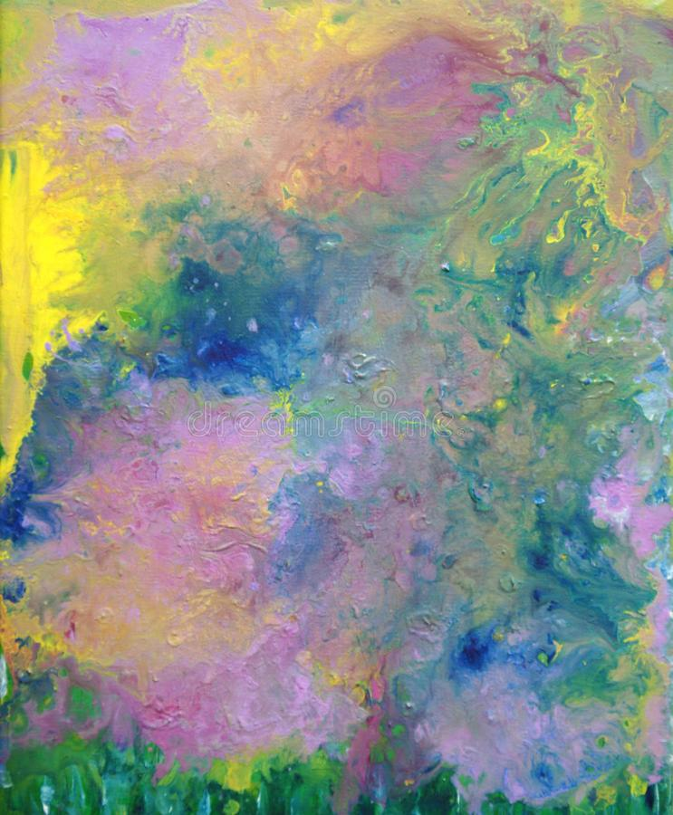 Rêve en couleurs illustration libre de droits