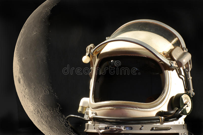 Rêve lunaire images libres de droits