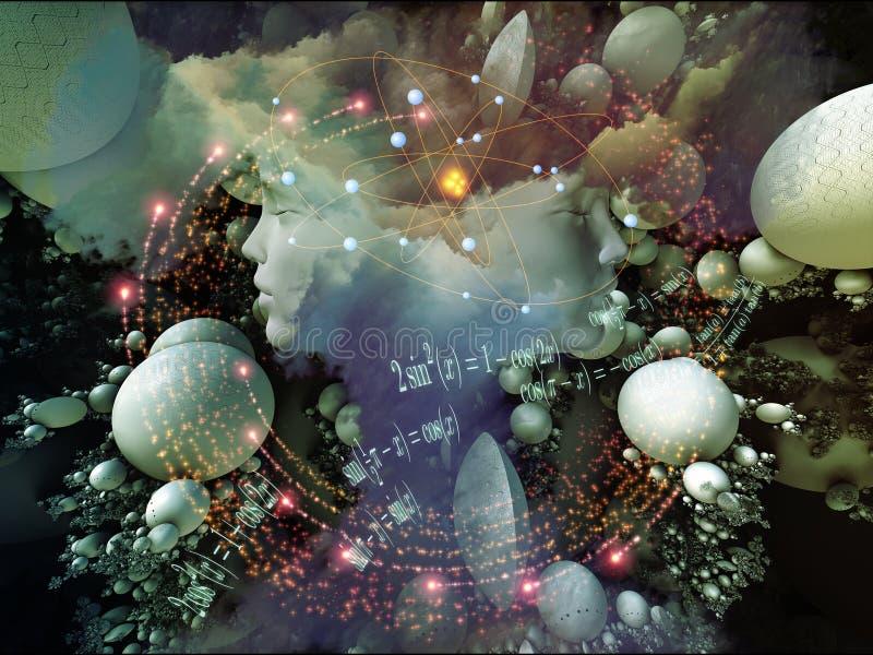 Rêve métaphorique illustration stock