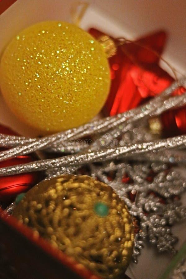 Rêve scintillant de Noël photographie stock