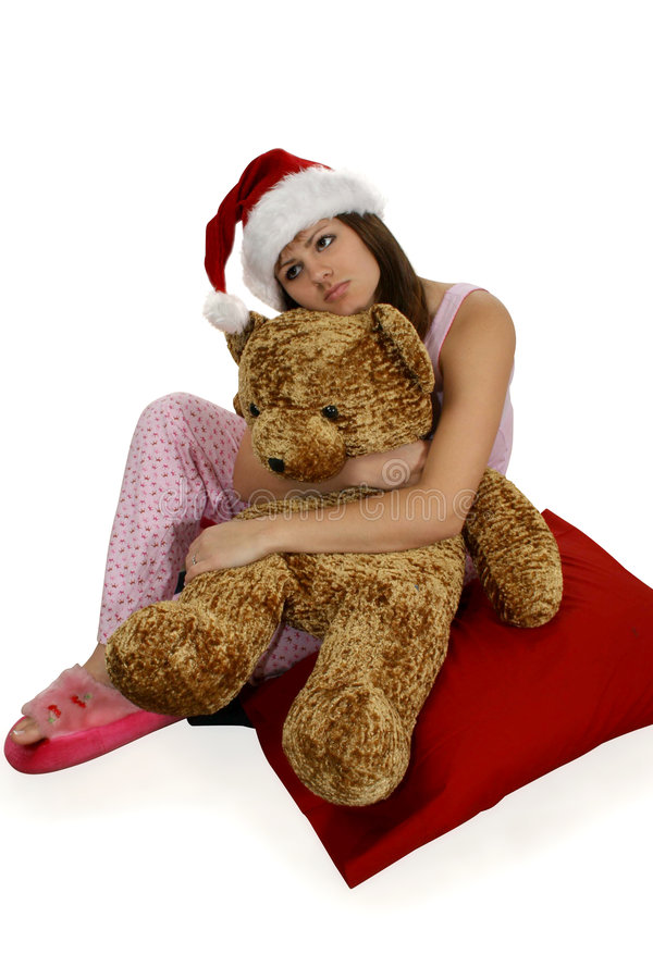 Rêver de jour de Noël images stock
