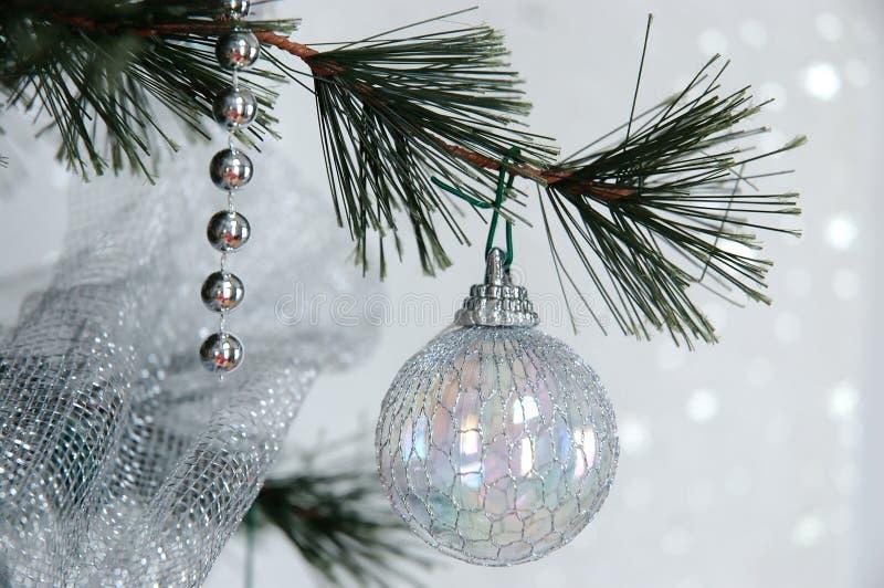 Rêver de Noël blanc images stock