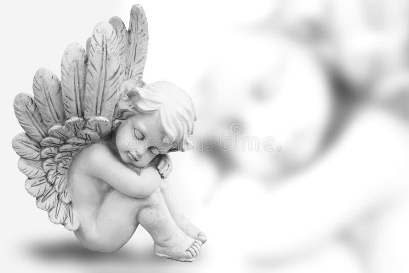 Rêver l'ange photo libre de droits