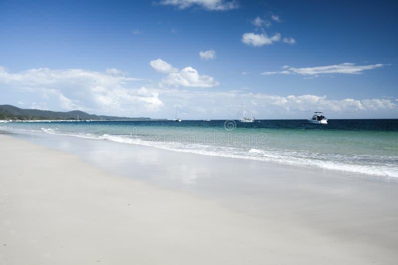 Rêverie d'île de Moreton image libre de droits