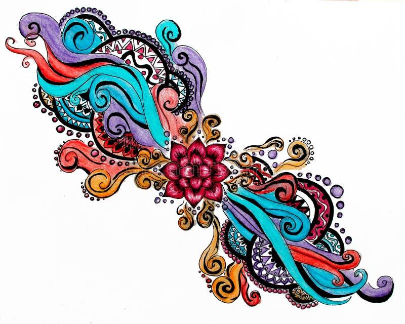 Rêves colorés image libre de droits