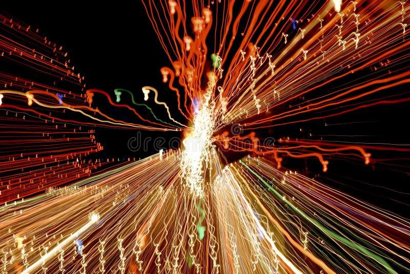 Rêves colorés d'hippocampe de lumières photo stock