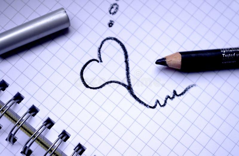 Rêves d'amour photo libre de droits