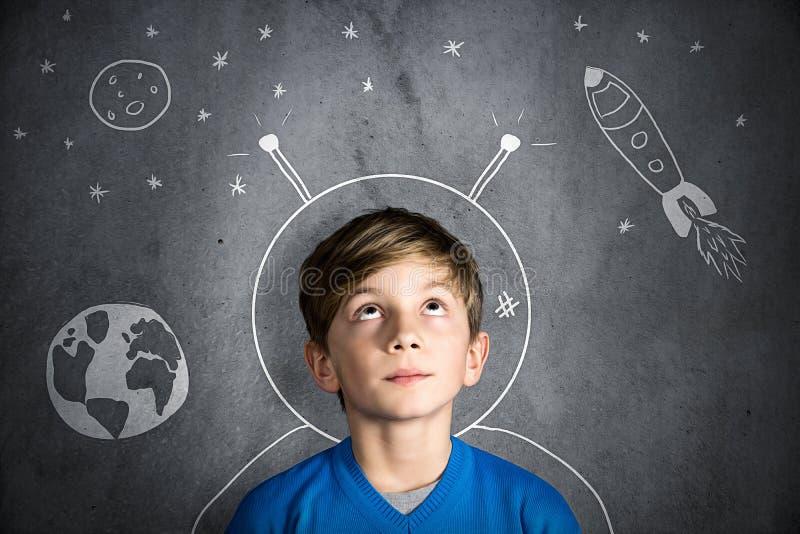 Rêves d'enfance images libres de droits