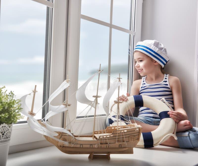 Rêves de mer, d'aventures et de voyage photos stock