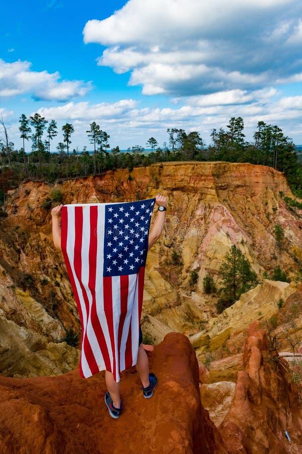 Rêveur américain image libre de droits