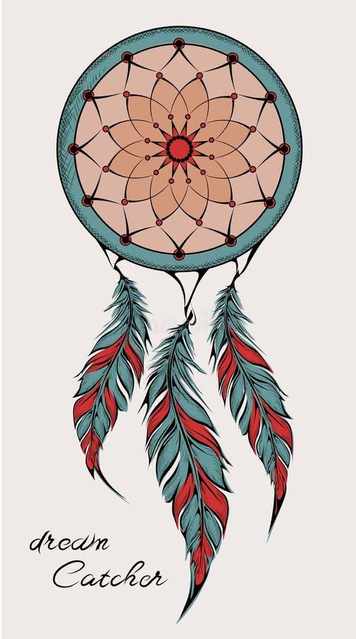 Rêvez le receveur amulette Illustration de vecteur illustration stock
