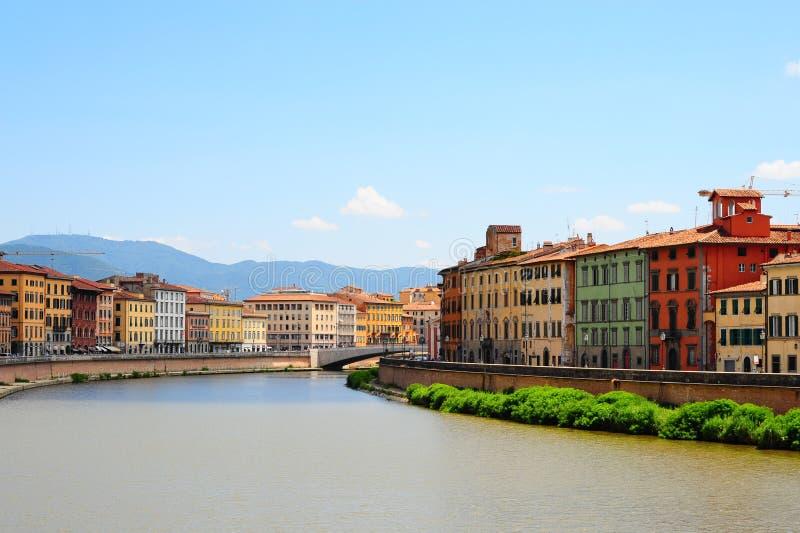 Río Arno imagen de archivo libre de regalías