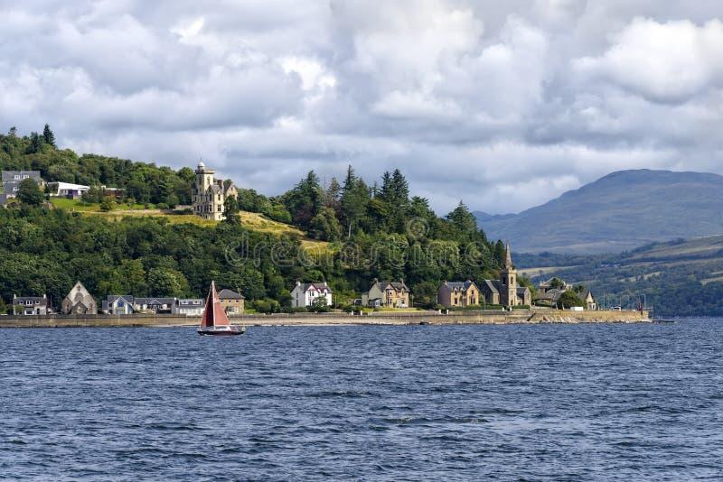Río Clyde en Escocia imágenes de archivo libres de regalías