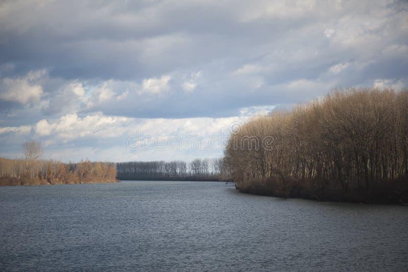 Río Danubio foto de archivo libre de regalías