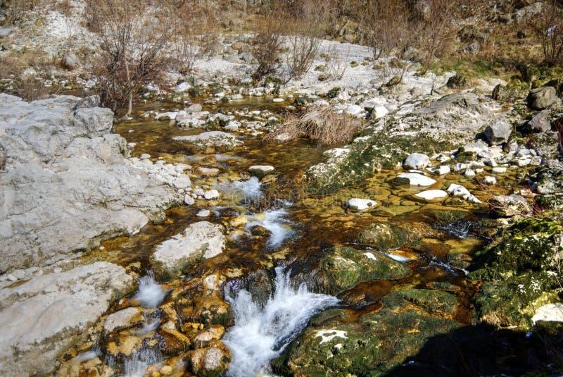 Río de Arsiero fotografía de archivo