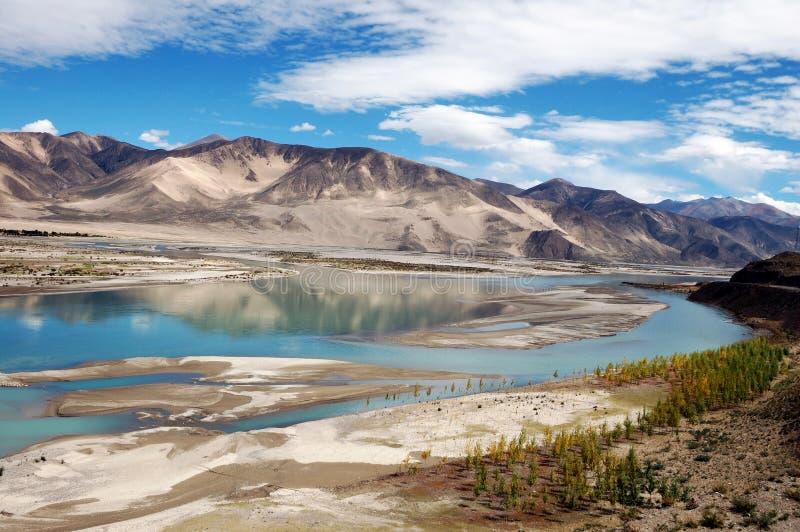 Río de Brahmaputra imagen de archivo libre de regalías