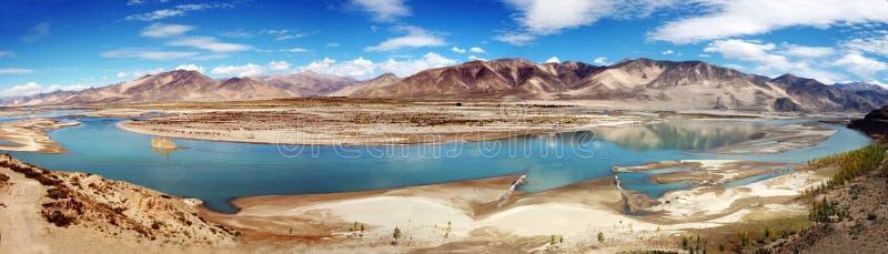 Río de Brahmaputra fotos de archivo libres de regalías