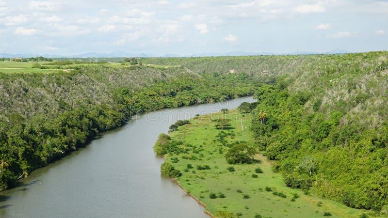 Download Río De Chavon En El La Romana, República Dominicana Foto de archivo - Imagen de palma, edificio: 64203674